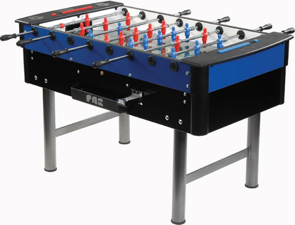 Bar football tables - Picture of bar ...